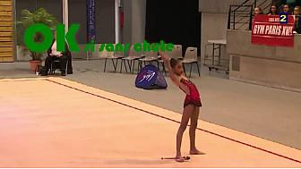 Exemples Difficultés Massues en Gymnastique Rythmique